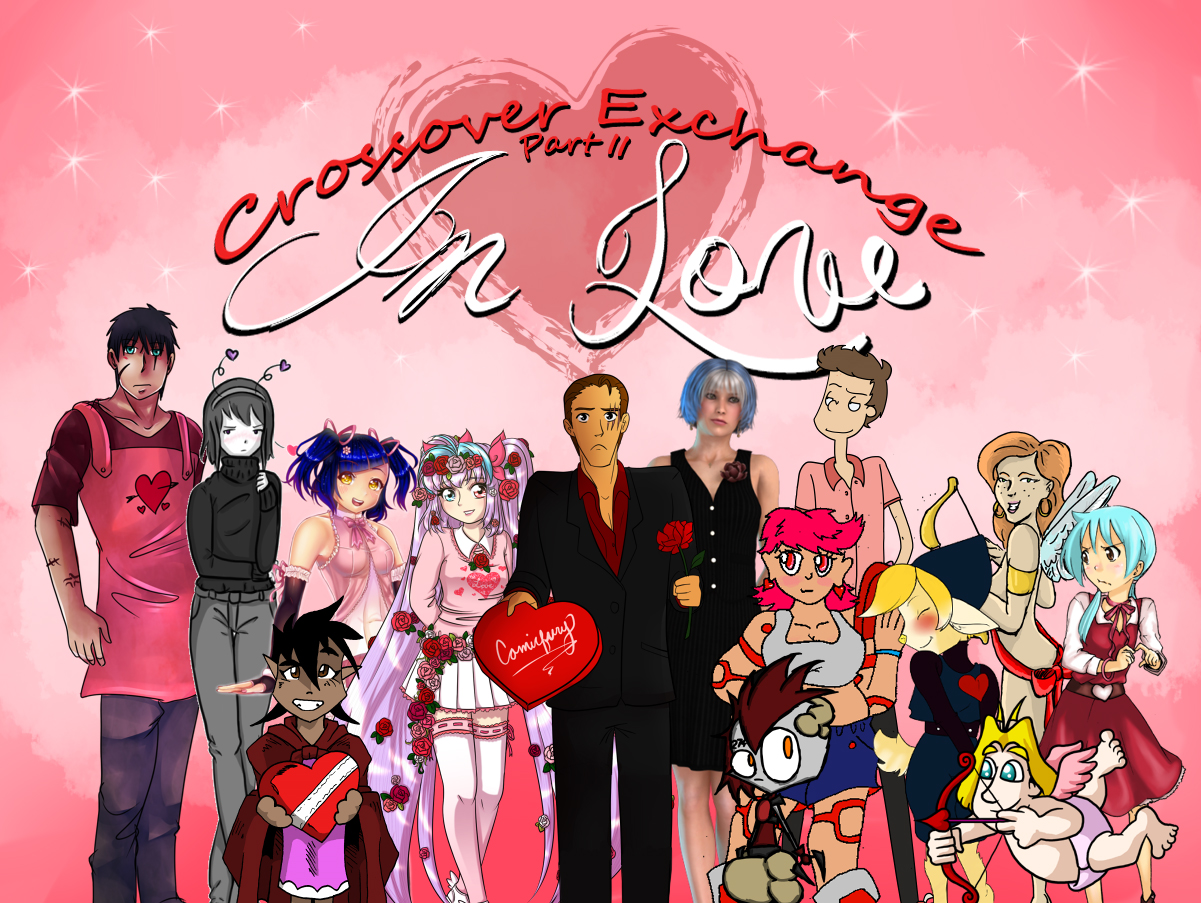 Crossover Exchange IN LOVE 2, Cover Image!!