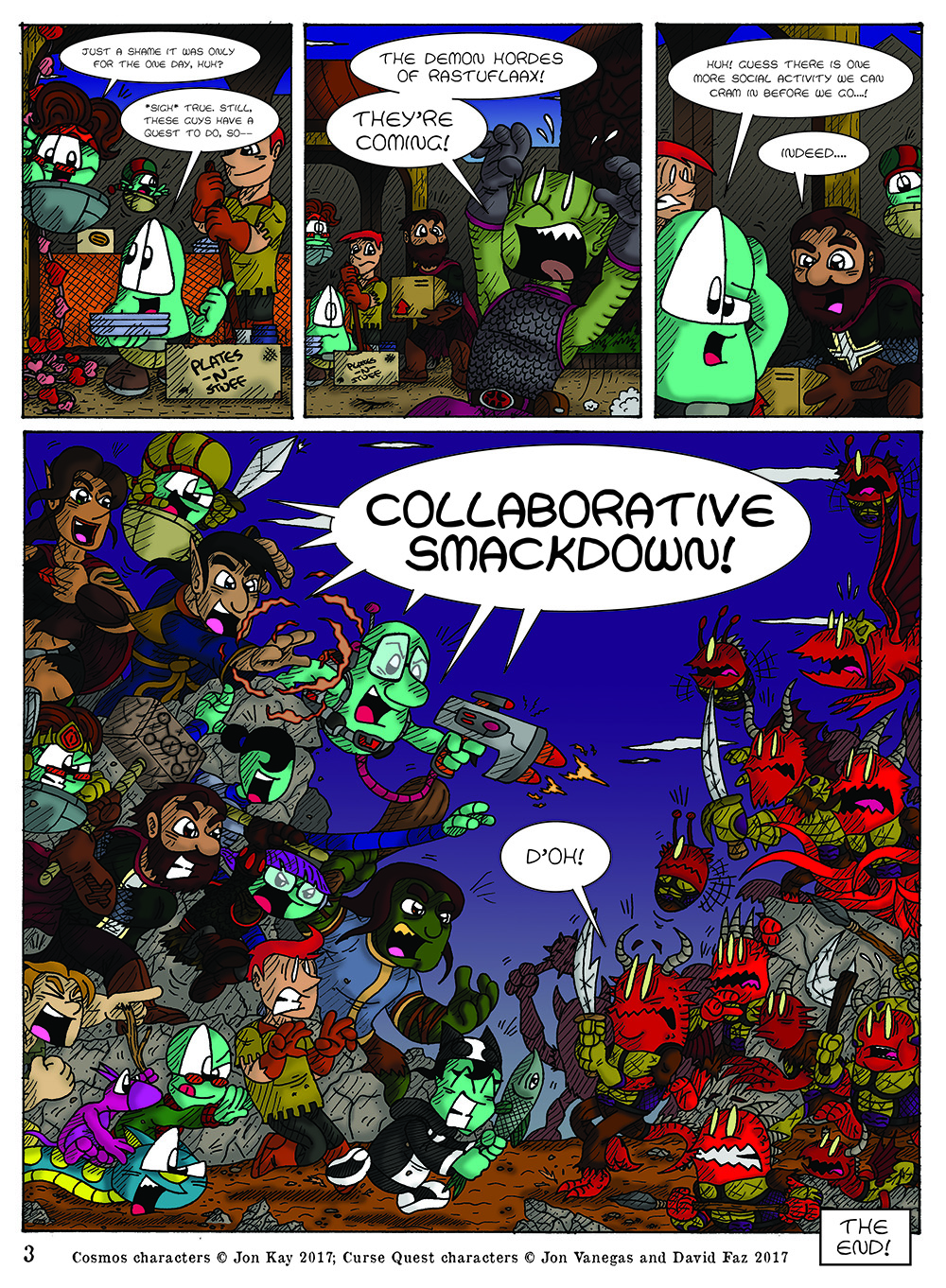 Curse Quest, Page 3 by Cartoonist_at_Large