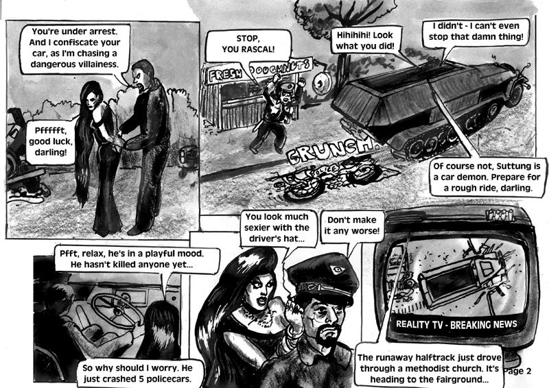 SwordCat Princess, Page 2 by Stilldown