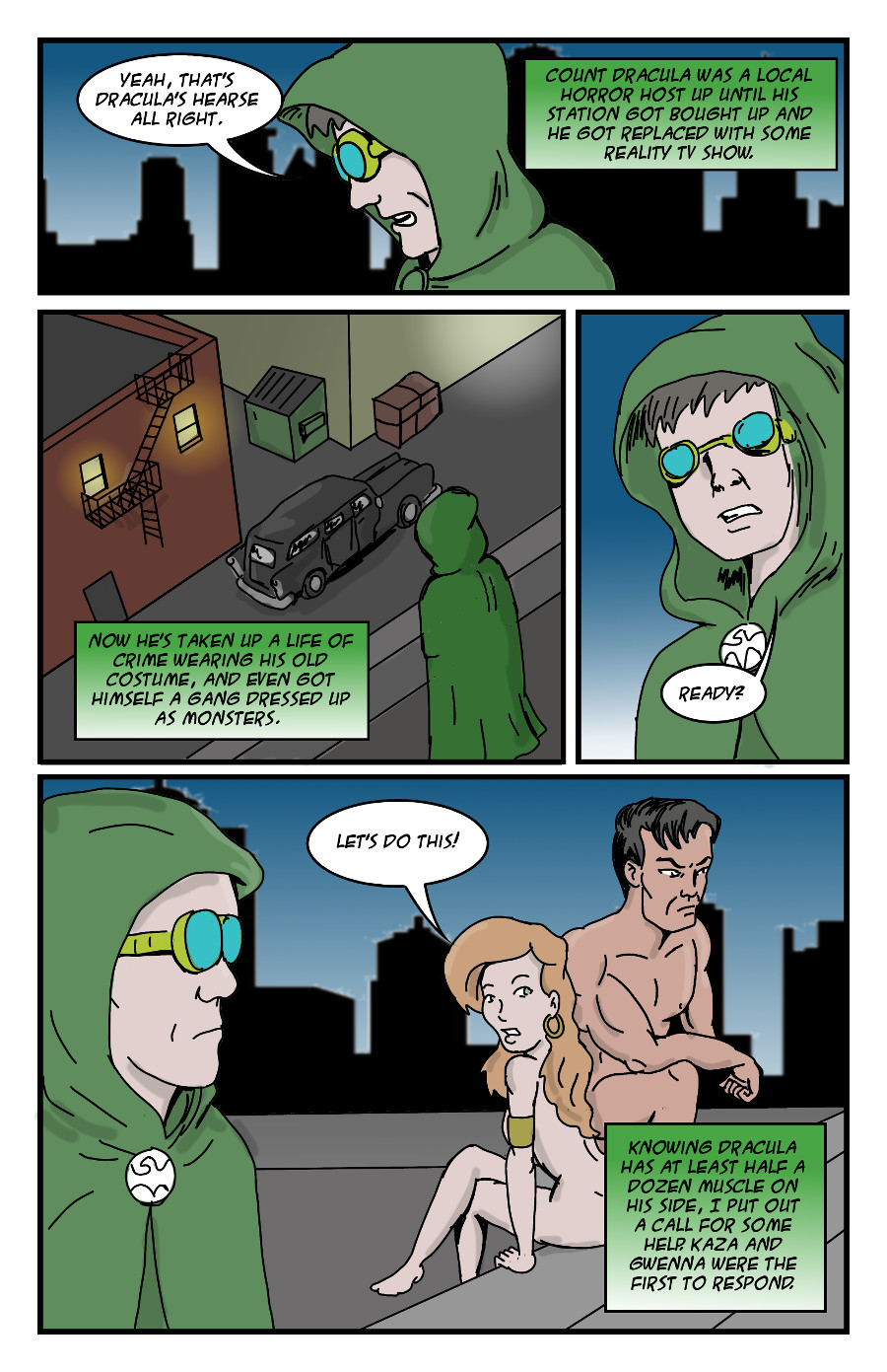 The Green Dove by Jay042 Page 1