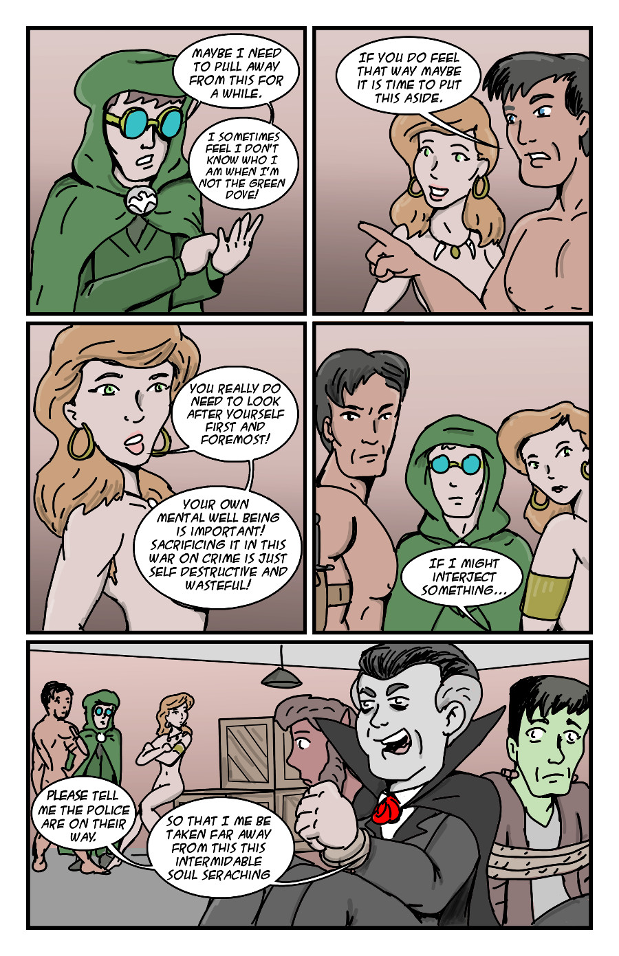 The Green Dove by Jay042 Page 5