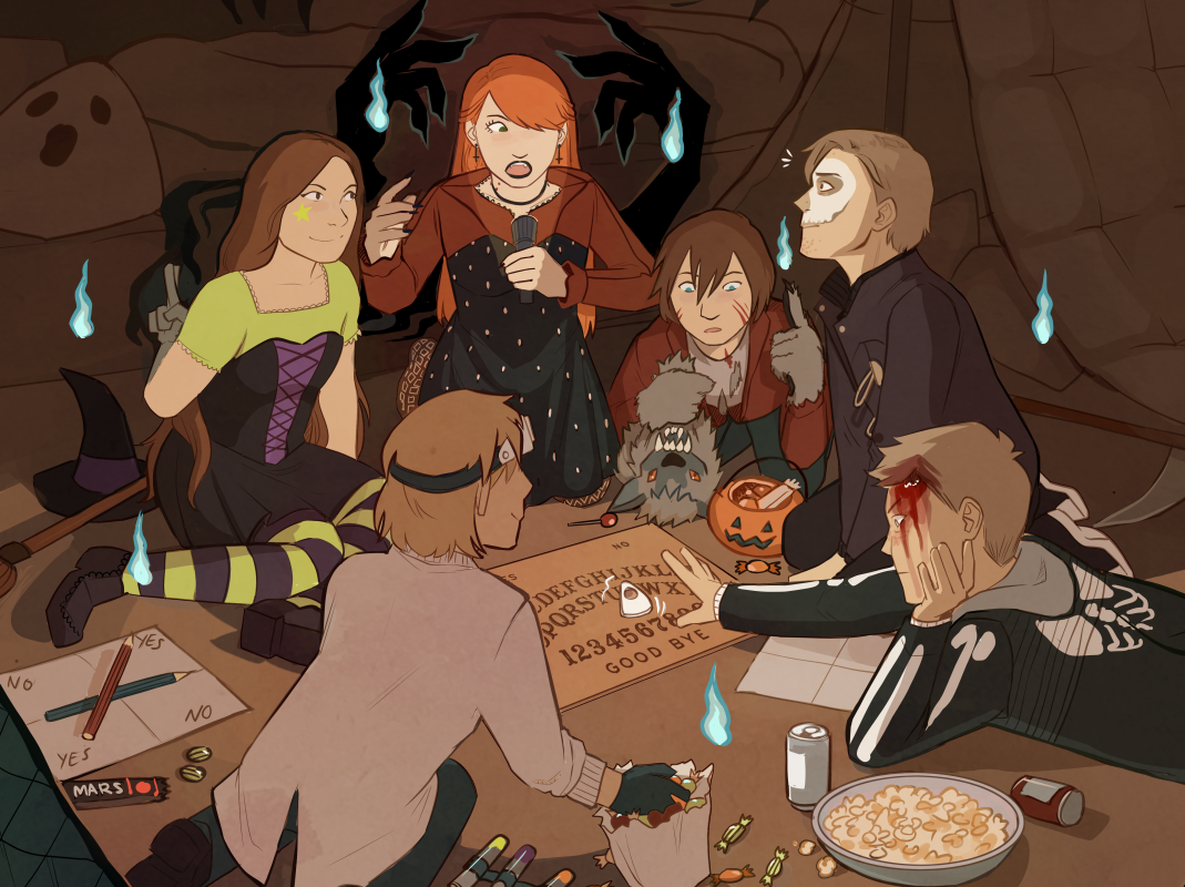 The Strangest Coven by Mothtrap