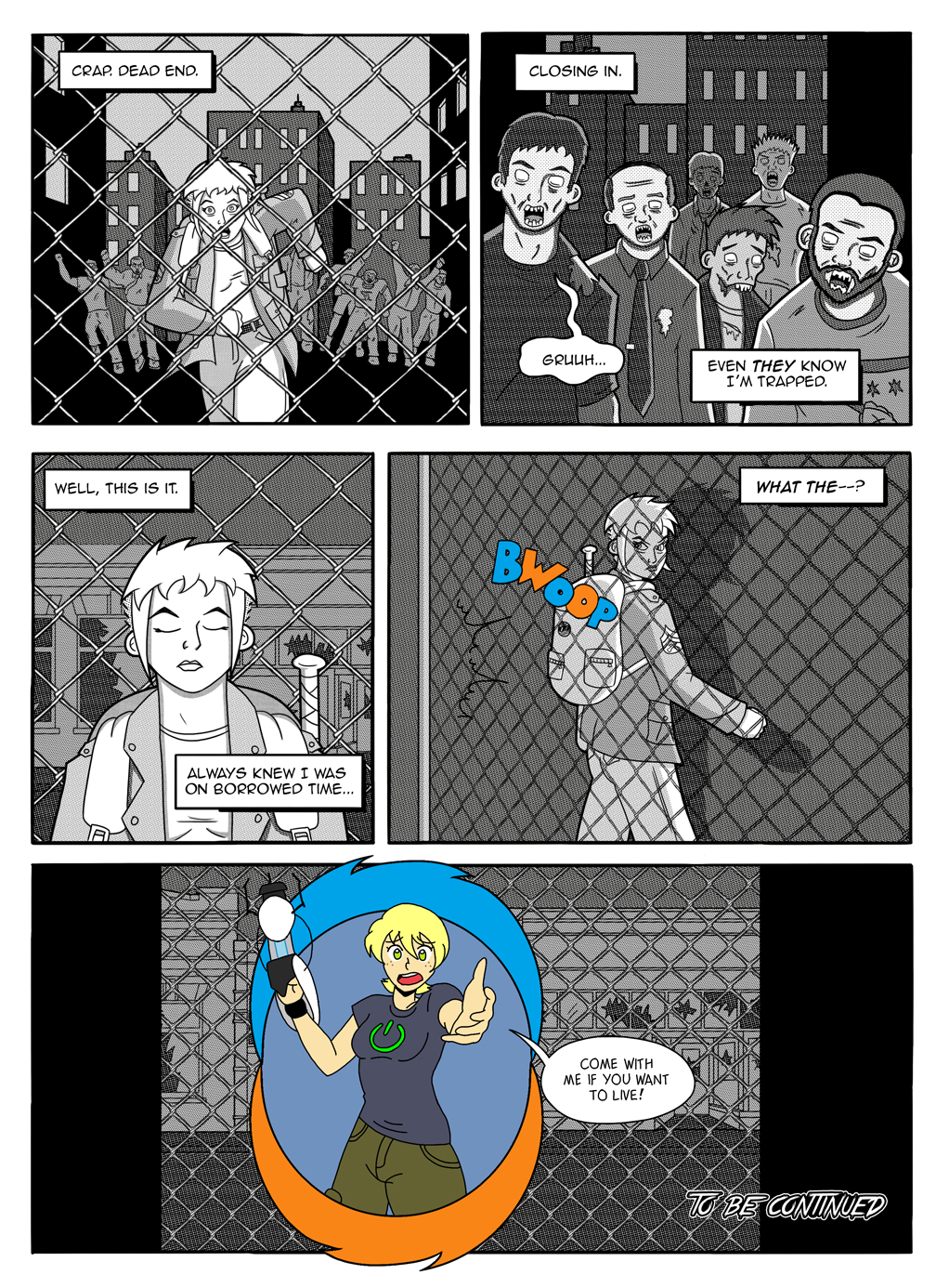 Pow! Right in the Nostalgia, Page 1 by Mayyday