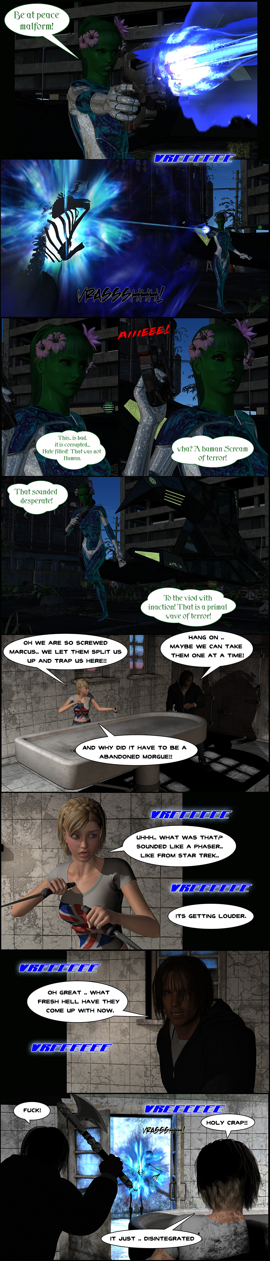 The Restless Dead [page 2] by Centcomm